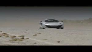 مسابقه درگ مکلارن MP۴ با لامبوگینی اونتادور
