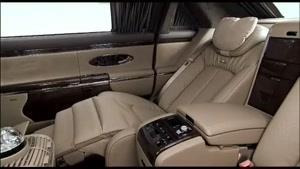 امکانات داخلی میباخ (Maybach)- طراحی داخلی خودرو