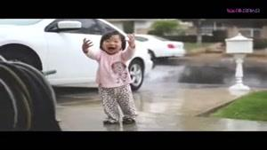 شادی کودکی که باران را کشف کرد