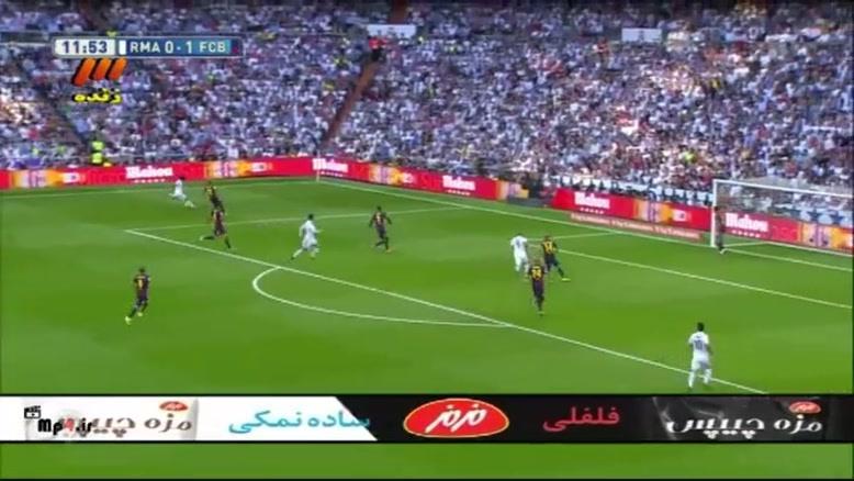 رئال مادرید ۳ - ۱ بارسلونا