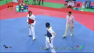 پیروزی مهدی خدابخشی در مقابل حریف تاجیکستانی
