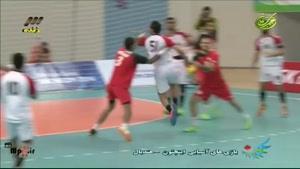 هندبال ایران - بحرین ست اول