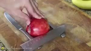 آموزنده - آموزش ساخت چیزهای جالب با میوه ها