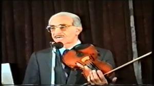 ساز و آواز زندهیاد علی تجویدی