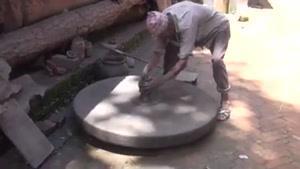 سفالگری به روش سنتی در نپال