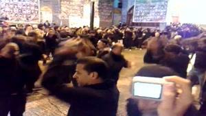 مراسم عزادری امام حسین - لاهیجان
