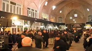 عزاداری بازار تبریز - سرای مظفریه - عاشورا