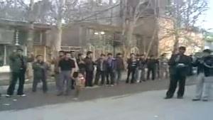 دسته عزاداری مهجرین افغانستانی مقیم خورین