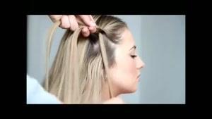 مدل موی بافت دخترانه