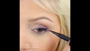 آموزش آرایش خط و سایه ی چشم