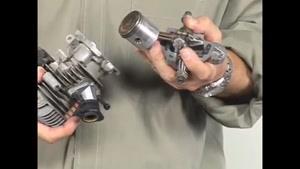 چگونگی کار کردن موتور های دو زمانه