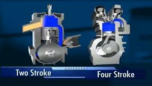 تفاوت موتور دو زمانه با چهار زمانه
