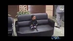کوچک ترین مرد دنیا در وزارت بهداشت