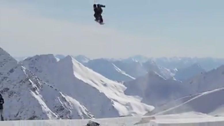 زمستون و برف و اسکی