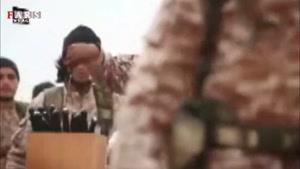فیلم هالیوودی داعش برای تبلیغ سربریدن سربازان سوری