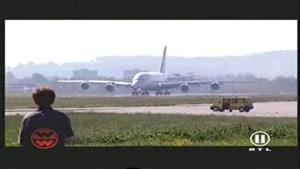 تبلیغ بزرگترین هواپیما- AIRBUS ۳۸۰