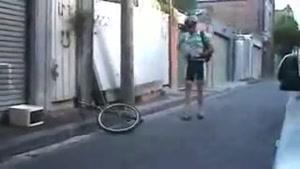 دوچرخه سوار با مزه