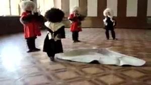 رقص آذری کودک