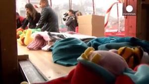 جمع آوری هدایای کریسمس برای کودکان محروم در بوداپس