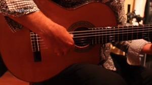 تکنوازی با گیتار اسپانیایی استیو مدل ۷CE