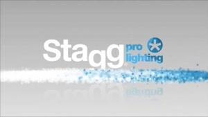 نورپردازی حرفه ای Stagg: لیزر مدل City Beam ۹