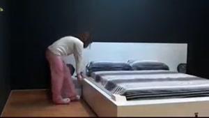 تخت خواب اتوماتیک (جمع شدن خودکار پتو)