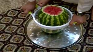قارچ کردن هندوانه
