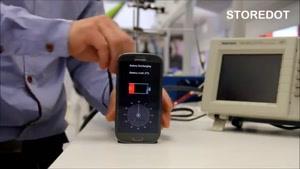 شارژ شدن گوشی در ۳۰ ثانیه