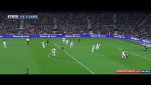 پاسکاری بازیکنان بارسلونا
