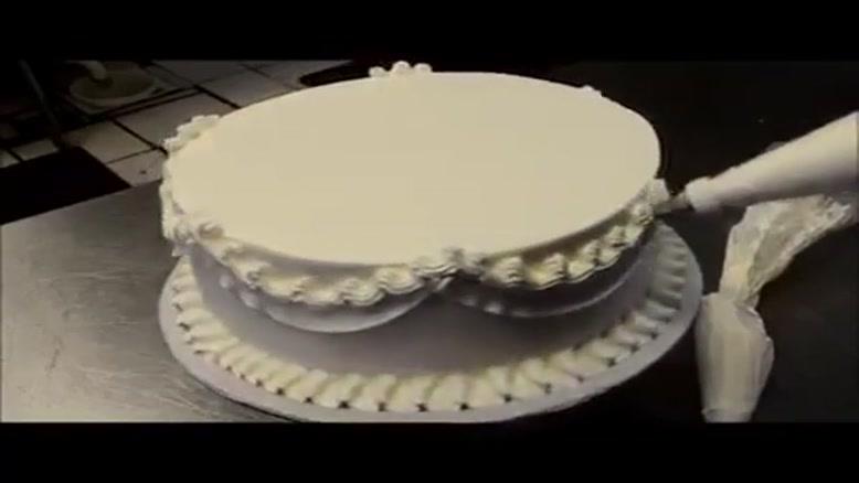 کیک خامه ای فوق العاده