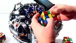 تکنولوژی و حل مکعب روبیک در ۵ ثانیه