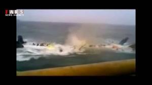 فیلمی از سرقت دکل نفتی!