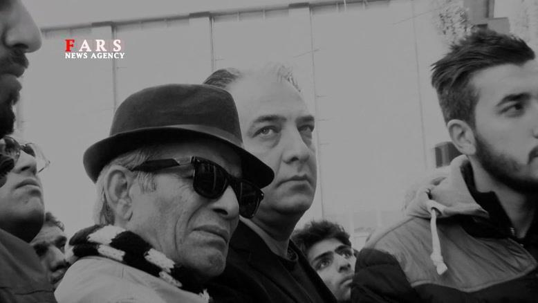 خداحافظ حافظه طهران/ پیکر مرتضی احمدی تشییع شد