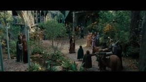 سکانسی از فیلم ارباب حلقه ها