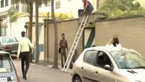 دوربین مخفی همکاری با دزد
