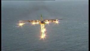 باران آتش هواپیما