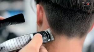 آموزش کوتاهی موی مردانه