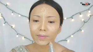 آموزش آرایش زیبای هندی