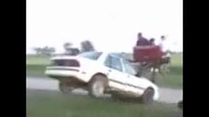 خر سواری با ماشین
