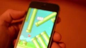 مرحله آخر بازی flappy Bird