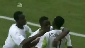 خوشحالی بعد از گل در جام جهانی