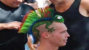 عجیب ترین مدل مو در جام جهانی
