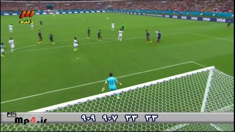 فرانسه ۳ - ۰ هندوراس