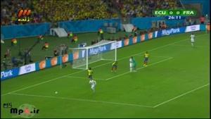 فرانسه ۰ - ۰ اکوادور