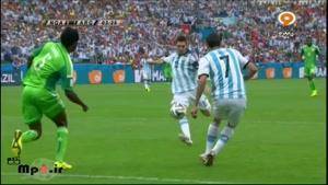 آرژانتین ۳ - ۲ نیجریه