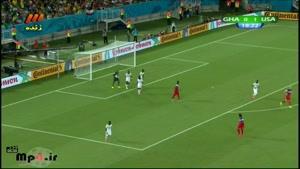 آمریکا ۲ - ۱ غنا