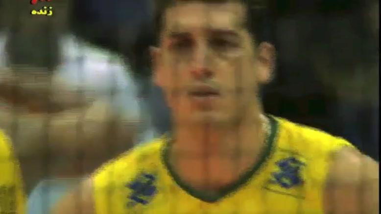 کلیپ باشکوه والیبال ایران - برزیل -