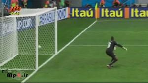 برزیل ۴ - ۱ کامرون