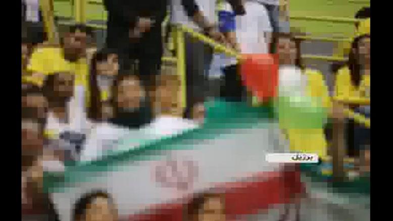 بازتاب برد والیبالیست های ایران