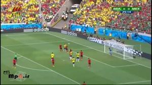 برزیل ۰ - ۰ مکزیک